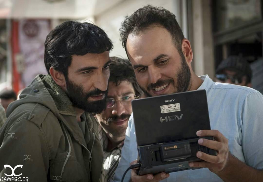 هادی حجازی فر در فیلم ایستاده در غبار