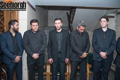 حضور محمد پسر حبیب در مراسم هفتم پدرش در تهران! , اخبار فرهنگ وهنر