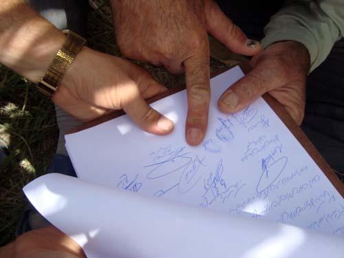 نامه تعدادی از جداشگان از فرقه رجوی به رئیس جمهور فرانسه