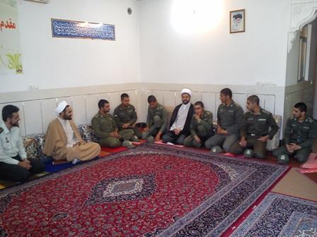 دیدار پرسنل وظیفه نیروی انتظامی شهرستان فلاورجان