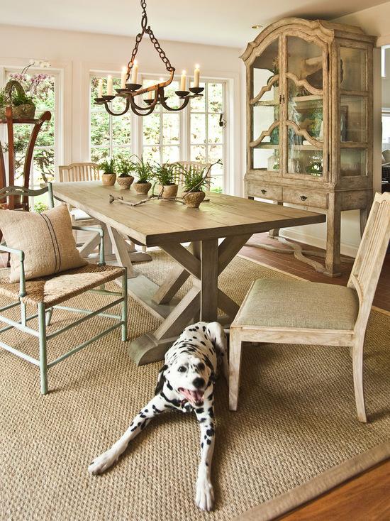 میز نهار خوری چوبی شیک