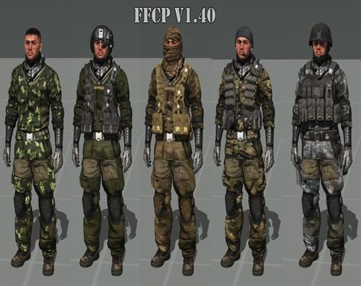 یونیفرم 1.40 FoxFort Camo Pack برای Arma3(اپدیت شد)