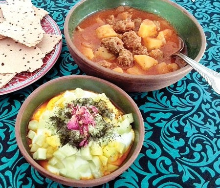 خوراکی ویژه کدام شهر ایران سرگنجشکی است؟