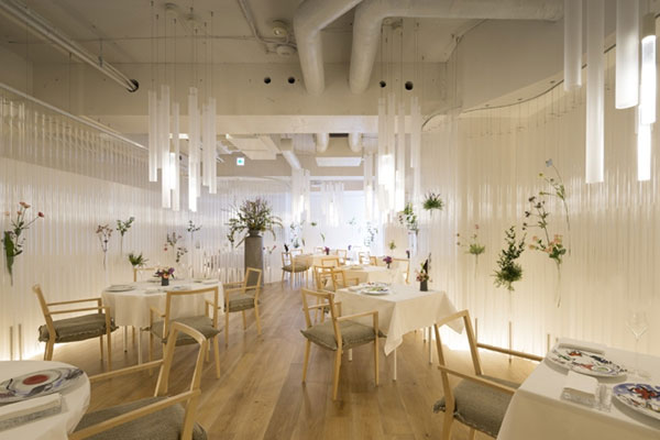 طراحی و دکوراسیون برای رستوران