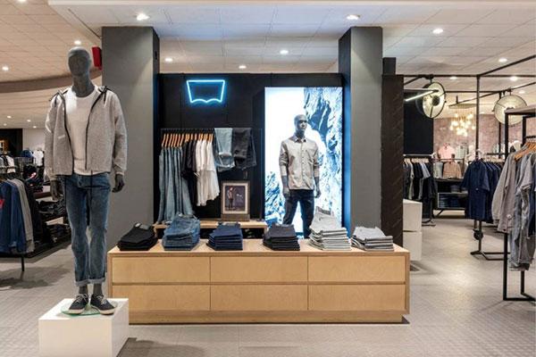 طراحی فروشگاه پوشاک آقایان