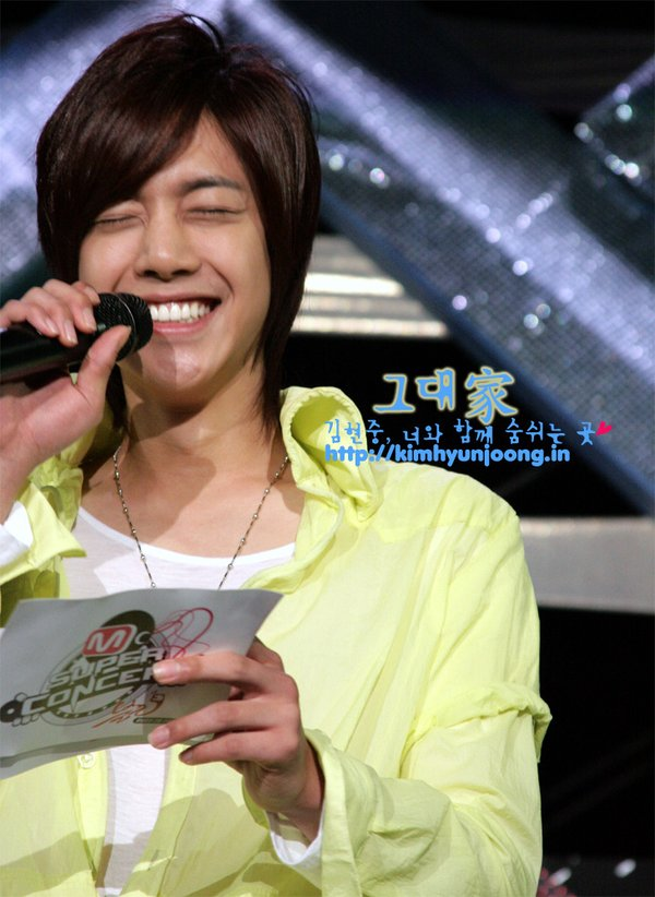 Hyun Joong Beautiful Smile