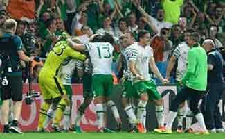 برنامه یک هشتم نهایی یورو 2016 , فوتبال اروپا