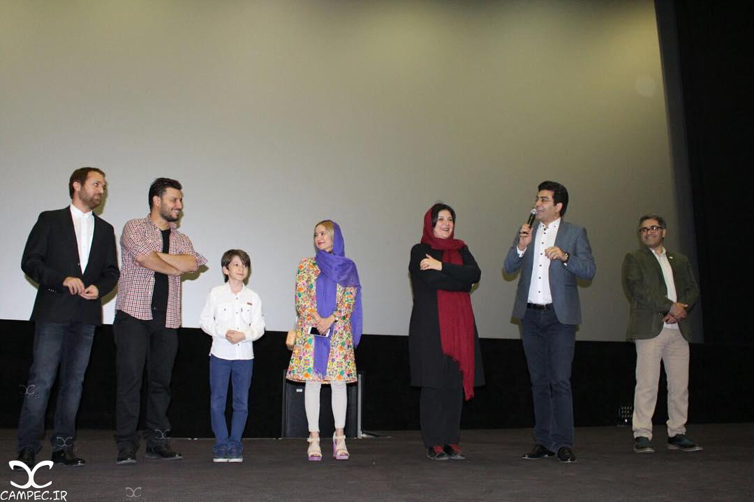 بازیگران در اکران خصوصی فیلم زاپاس