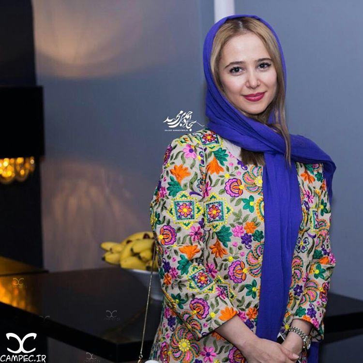 الناز حبیبی در اکران خصوصی فیلم زاپاس