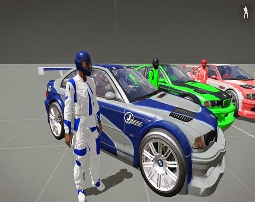 مود ماشین BMW با نام Max Racing Team