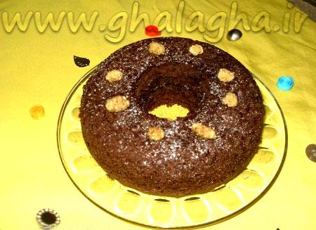 طرز تهیه کیک شکلاتی بی فر