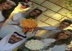 ازدواج با 4 دختر برای روکم کنی همسر سابق!! +عکس , جالب وخواندنی