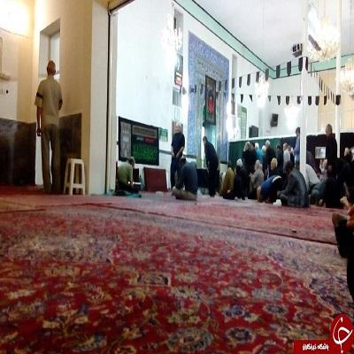 بمب آتش زا در مسجد کنی میدان هروی تهران کشف شد+عکس