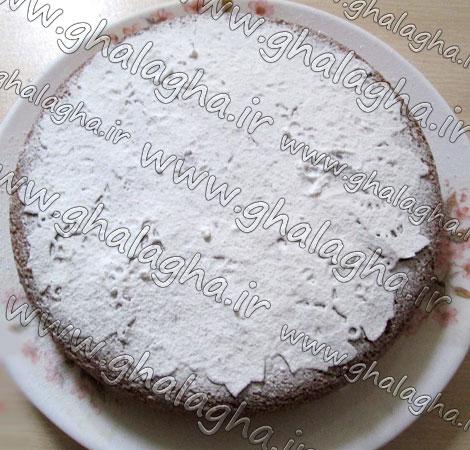آموزش تصویری طرز پخت کیک در قابلمه