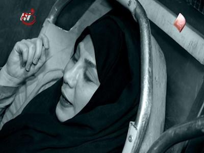 فیلم و عکس ماجرای خوابیدن بهنوش بختیاری در آمبولانس بهشت زهرا (س)