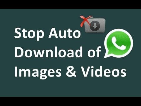 آموزش جلوگیری از دانلود خودکار در واتس اپ اندروید + تصویر