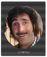 هادی کاظمی در پشت صحنه سریال علی البدل