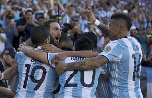 نتیجه بازی آرژانتین و شیلی 7 تیر 95 فینال کوپا آمریکا 2016 گلها و خلاصه