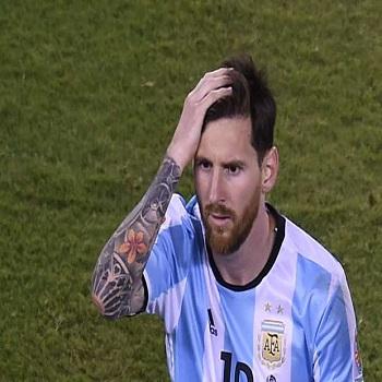 عکس و فیلم خداحافظی مسی از تیم ملی آرژانتین در فینال کوپا آمریکا 2016