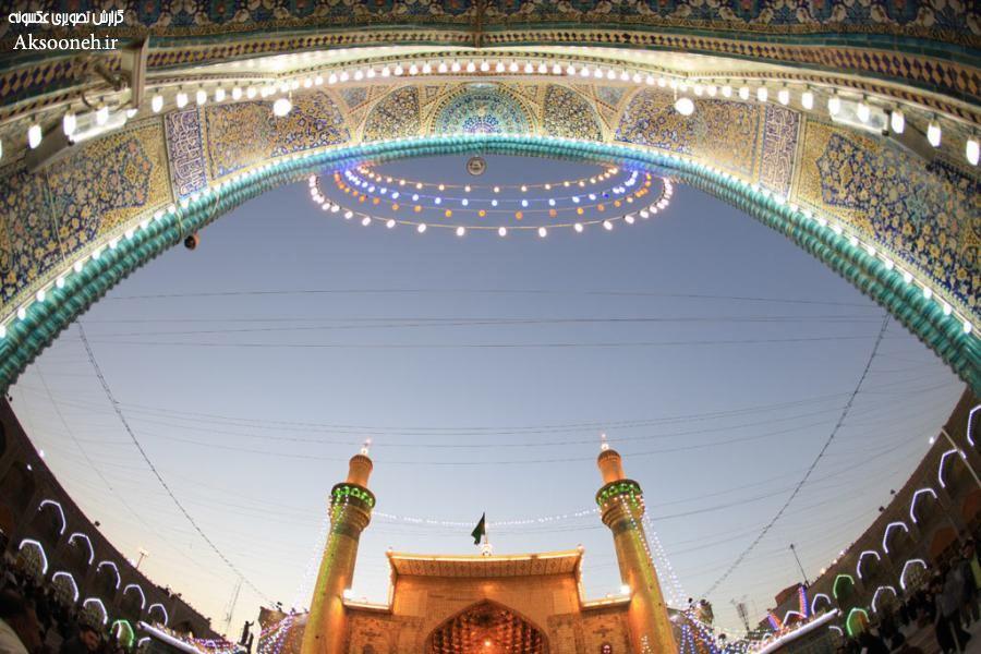 تصاویر زیبا از حرم مطهر امام علی (ع) در نجف | WwW.Aksooneh.IR