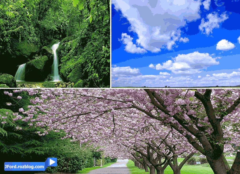 تصاویر طبیعت با کیفیت بالاHD