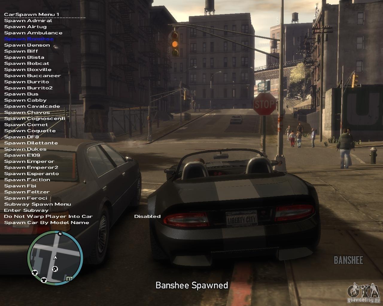 (...آموزش (دفع پلیس و جان بینهایت و + GTA IV ترینر بازی