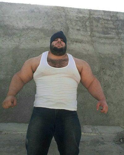 عکس های سجاد غریبی معروف به غول داعش هالک ایرانی 3