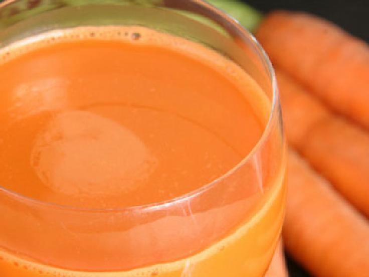 رنگ کاروتن در هویج