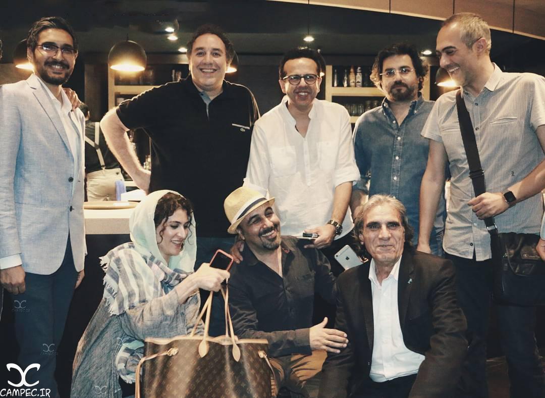 هنرمندان در اکران مردمی فیلم چهارشنبه