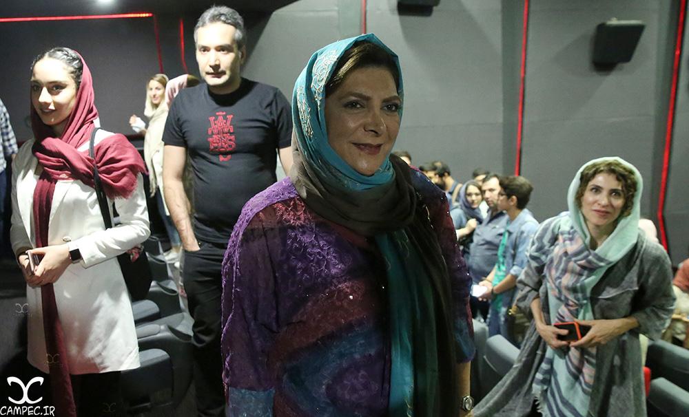 بازیگران در اکران مردمی فیلم چهارشنبه