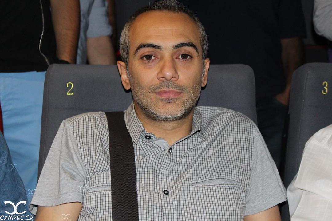 علی قربانزاده در اکران مردمی فیلم چهارشنبه