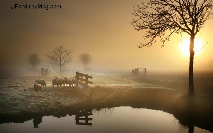 تصاویر بسیار زیبا از طلوع و غروب خورشید-شماره ی 2
