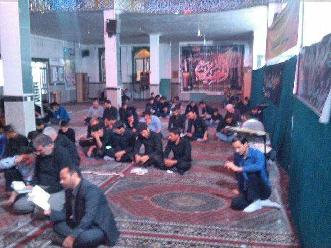 مراسم شب قدر95،مسجدجامع صاحب الزمان(عج) اسفندان،کانون شهید داودی