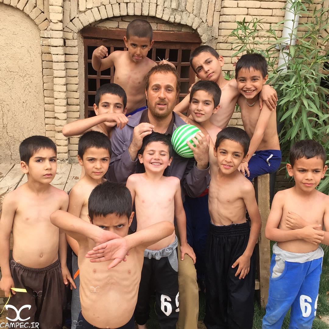 احمد مهران فر با کودکان