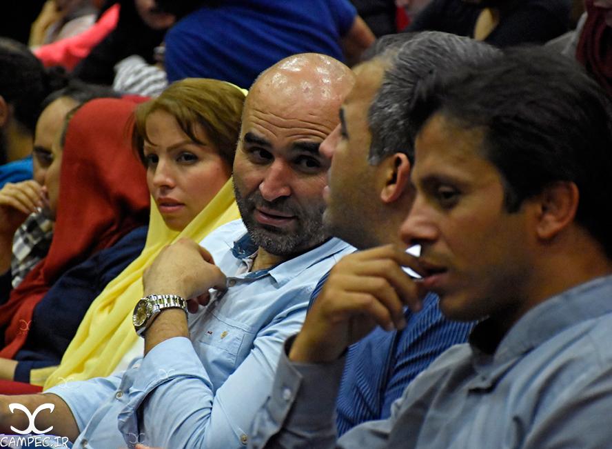 علی مسعودی در اکران فیلم دراکولا