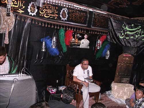 جلسات هفتگی هیئت زوّارالحسین (ع) - مدّاحی آقای یوسف محسنی