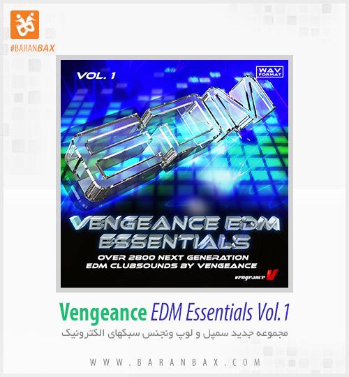 دانلود سمپل و لوپ ونجنس Vengeance EDM Essentials Vol.1