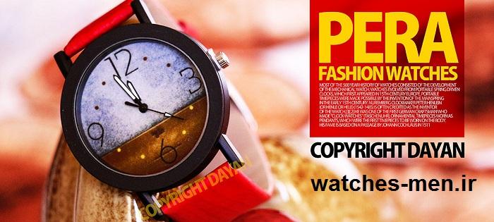 خرید ساعت مچی مردانه زنانه PERA