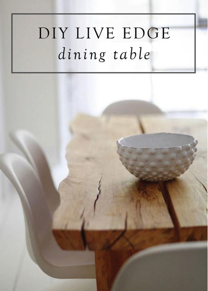 میز نهار خوری چوب طبیعی
