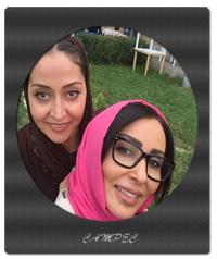 تصاویر پرستو صالحی و آرزو افشار در اختتامیه برنامه ماه عسل