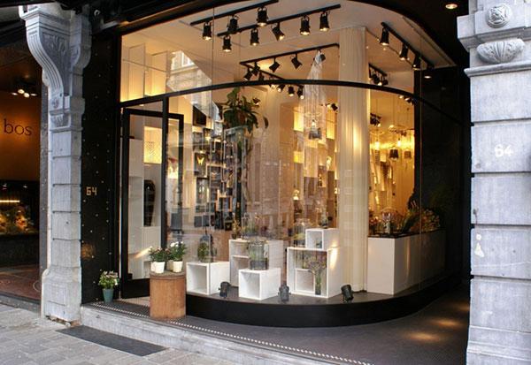 طراحی زیبای مغازه گل فروشی در بلژیک
