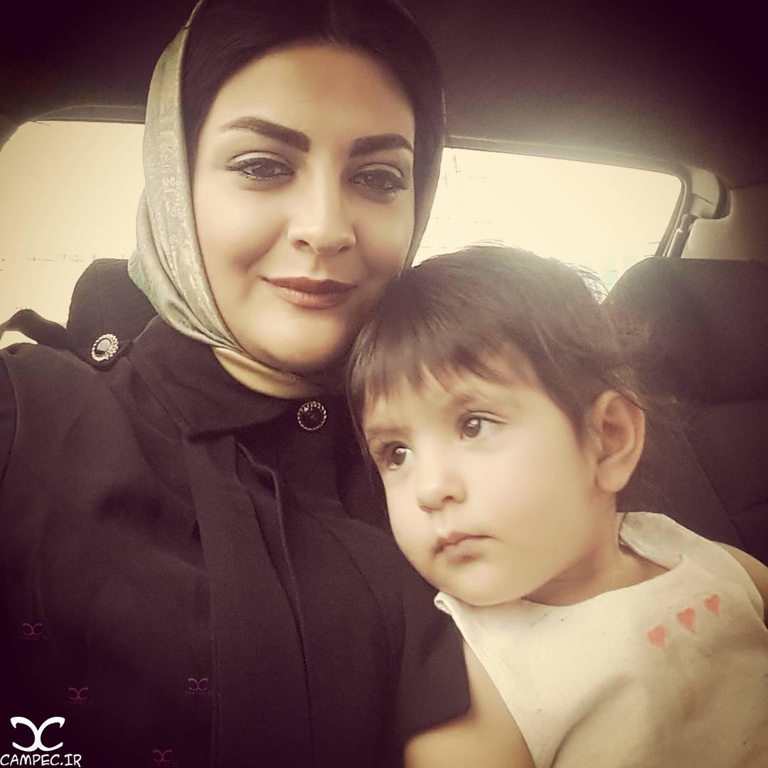 لیلا ایرانی و فرزندش