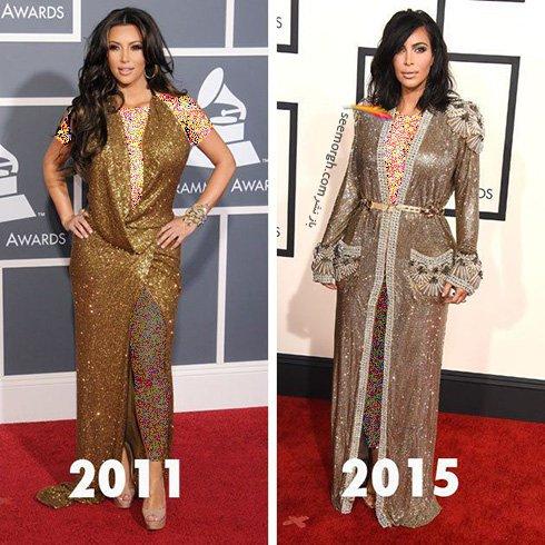 بهترین مدل لباس و تیپ های کیم کارداشیان در دنیای مد!!! , مد و ستاره ها