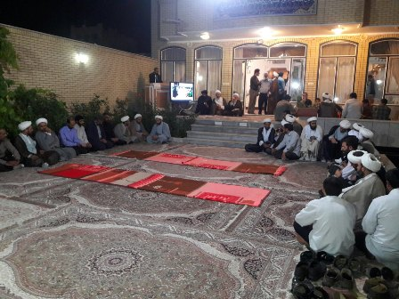 نشست روحانیون و طلاب شهر قهدریجان