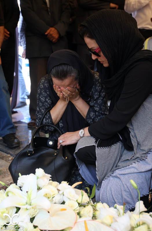 عکسهای مراسم تشییع پیکر بهمن زرین پور , عکس های بازیگران