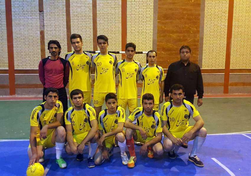 تیم فوتسال خشکبار قاضی جهان مسابقات جام رمضان قاضی جهان سال1395