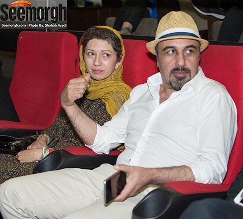 عکس رضا عطاران و همسرش فریده فرامرزی , عکس های بازیگران