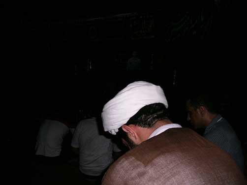 برگزاری جلسات هفتگی هیئت زوّرالحسین علیهم السلام (یکشنبه شبها) در حسینیه شهید محمّد علی دولت آبادی