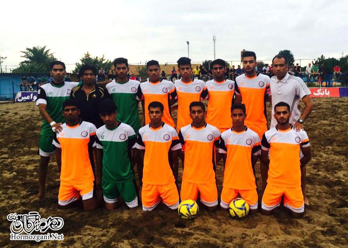 فوتبال ساحلی شهرداری بندرعباس