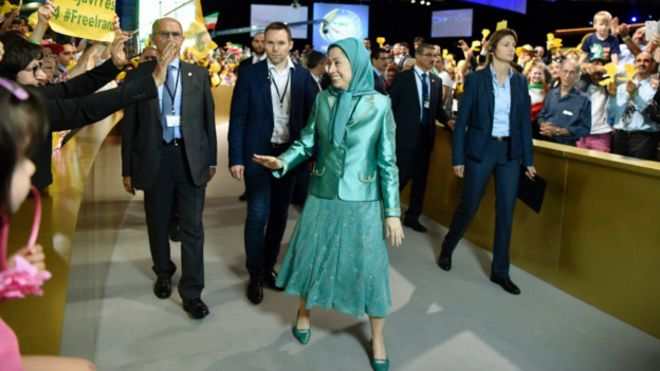 تقابل عربستان و ایران؛ ارسال پیام از مقر سازمان مجاهدین خلق